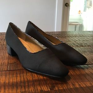 Stacked Heel Dressy Shoes